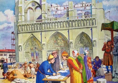 construction d'une cathédrale au  Moyen-Age.jpg